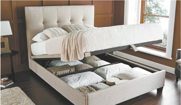 BASE STORAGE BED FULL/MATRIMONIAL-1733